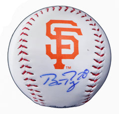 Buster Posey San Francisco Giants Signed Autographed Rawlings Official Major League Logo Baseball Global COA with Display Holder