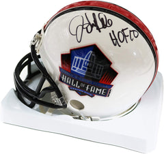 John Randle Minnesota Vikings Signed Autographed Hall Of Fame Mini Helmet JSA COA