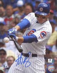 "Anthony Rizzo Chicago Cubs Signed Autographed 8"" x 10"" Photo Global COA"