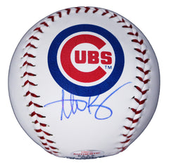 Anthony Rizzo Chicago Cubs Signed Autographed Rawlings Major League Logo Baseball PAAS COA with Display Holder