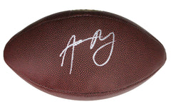 "Aaron Rodgers Green Bay Packers Signed Autographed Wilson ""THE DUKE"" NFL Football PAAS COA"