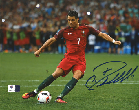 "Cristiano Ronaldo Portugal Signed Autographed 8"" x 10"" Photo Global COA"