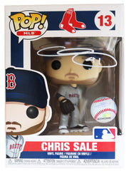 Chris Sale Boston Red Sox Signed Autographed MLB FUNKO POP #13 Vinyl Figure Global COA