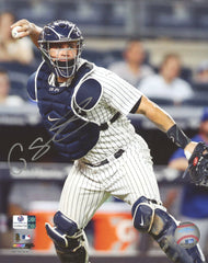 "Gary Sanchez New York Yankees Signed Autographed 8"" x 10"" Photo Global COA"