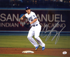"Corey Seager Los Angeles Dodgers Signed Autographed 8"" x 10"" Photo PAAS COA"