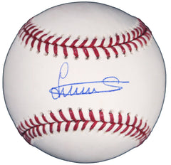 Luis Severino New York Yankees Signed Autographed Rawlings Official Major League Baseball Beckett COA with Display Holder