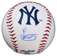 Luis Severino New York Yankees Signed Autographed Rawlings Official Major League Logo Baseball Global COA with Display Holder