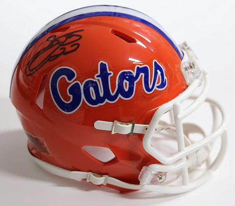 Emmitt Smith Florida Gators Signed Autographed Football Mini Helmet Global COA