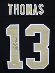 Michael Thomas New Orleans Saints Signed Autographed Black #13 Custom Jersey PAAS COA