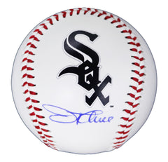 Jim Thome Chicago White Sox Signed Autographed Rawlings Official Major League Logo Baseball Global COA with Display Holder