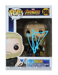 Chris Hemsworth Signed Autographed Thor FUNKO POP #286 Vinyl Figure Global COA