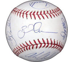 Detroit Tigers 2014 Team Signed Autographed Rawlings Official Major League Baseball