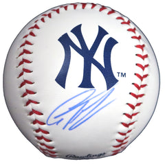 Gleyber Torres New York Yankees Signed Autographed Rawlings Official Major League Logo Baseball Global COA with Display Holder