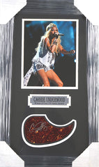 "Carrie Underwood Country Singer Signed Autographed Pickguard 24"" x 14-1/8"" Framed Display"