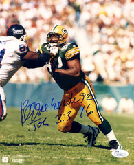 "Reggie White Green Bay Packers Signed Autographed 8"" x 10"" Photo JSA COA"