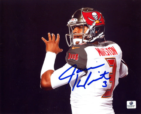Jameis Winston Tampa Bay Buccaneers Signed Autographed 8 X 10 Photo Global COA