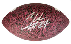 Charles Woodson Oakland Raiders Signed Autographed Junior Football PAAS COA