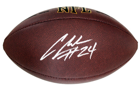Charles Woodson Oakland Raiders Signed Autographed Wilson NFL Football Global COA