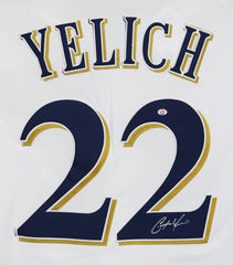 Christian Yelich Milwaukee Brewers Signed Autographed White #22 Jersey PAAS COA