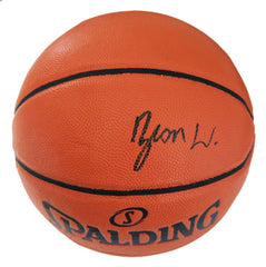 Zion Williamson New Orleans Pelicans Signed Autographed Spalding NBA Game Ball Series Basketball PAAS COA