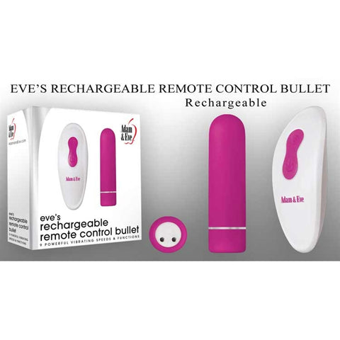 EVE'S RECHARGEABLE REMOTE CONTROL BULLET