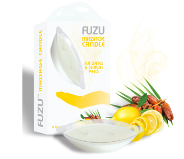 FUZU CHANDELLE DE MASSAGE - DATTE & CITRON