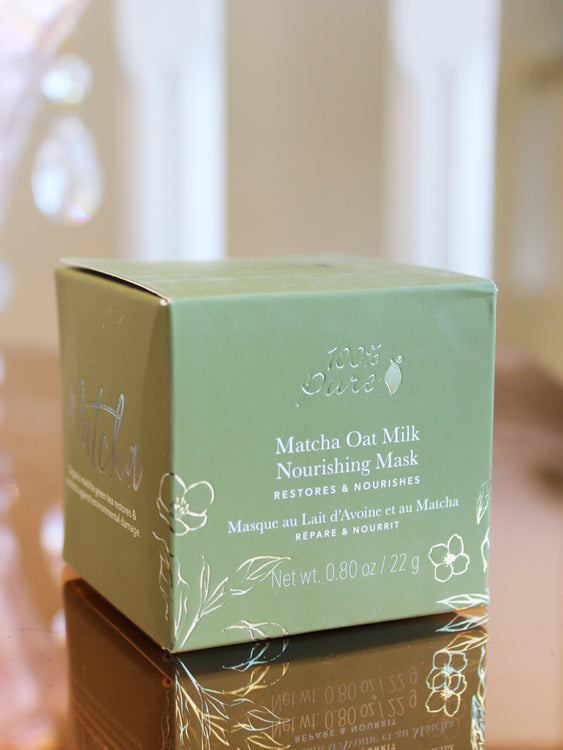 100% Pure Matcha Oat Milk Nourishing Mask