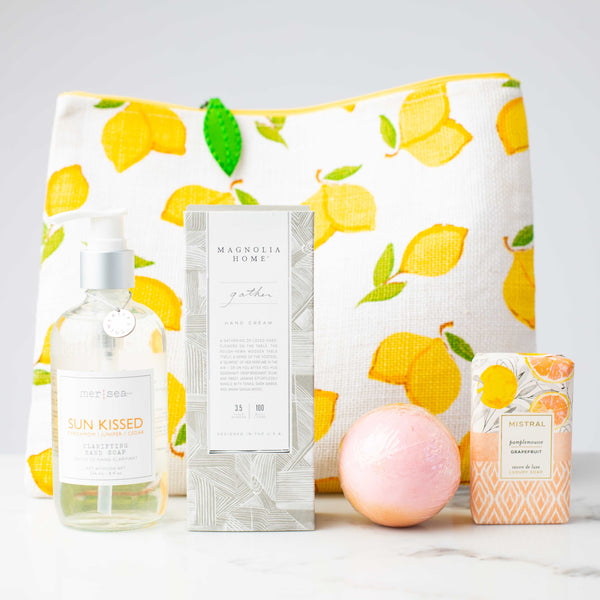 LUX Limited Edition Lemons to Lemonade Gift Set: Gather