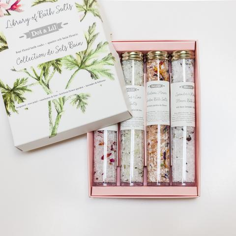 Dot & Lil Library of Bath Salts Set