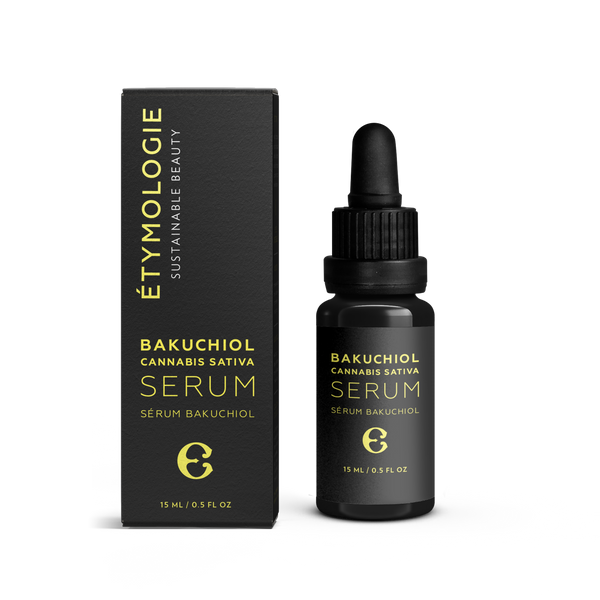 Étymologie Sustainable Beauty Bakuchiol Cannabis Sativa Serum