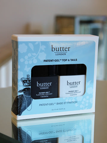 Butter London Patent-Gel Top & Tail Set