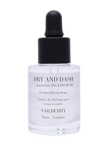 Nailberry Dry And Dash With Inca Inchi Oil Lacquer Drying Drops