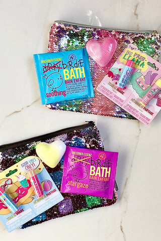 "Avery's ""Bathe in Sequins"" Gift Pick"
