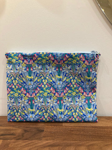 Haute Mess Liberty London Handmade Cosmetic Pouch
