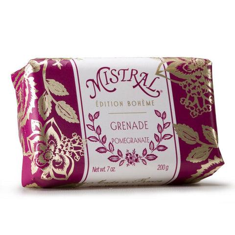 Mistral Boheme Organic Olive Oil & Shea Butter Bar Soap