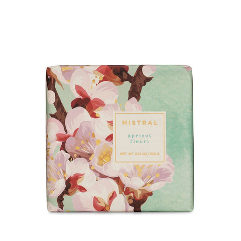 Mistral Exquisite Florals Olive Oil & Shea Butter Bar Soap