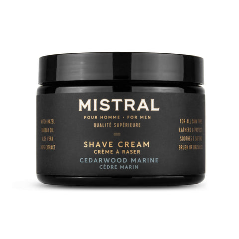Mistral Men's Collection Shave Cream