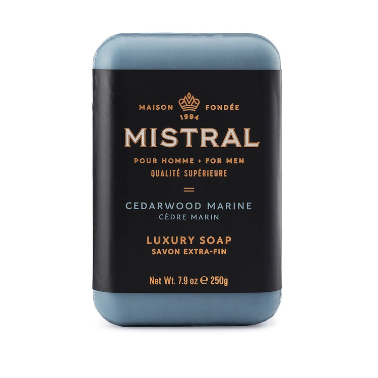 Mistral Men's Collection Triple Milled Luxury Bar Soap