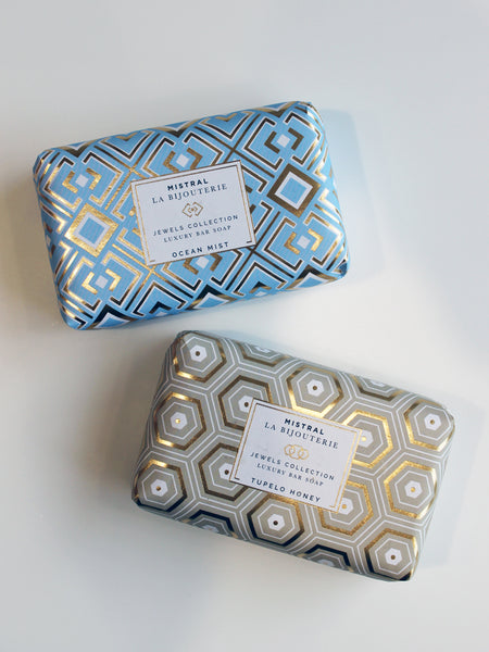 Mistral Jewels Organic Olive Oil & Shea Butter Bar Soap