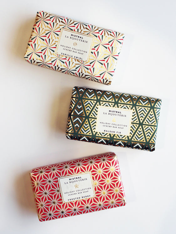 Mistral Holiday Jewels Organic Shea Butter Bar Soap