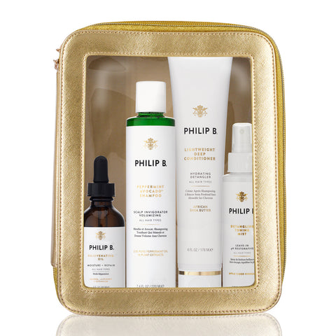 Philip B Four Step Hair + Scalp Treatment Set
