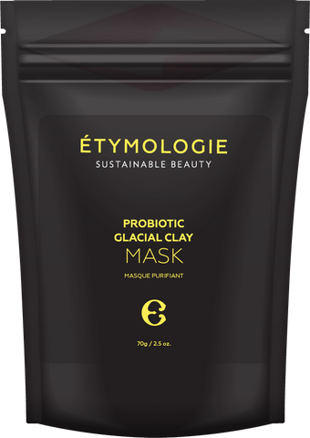 Étymologie Sustainable Beauty Probiotic Glacial Clay Mask