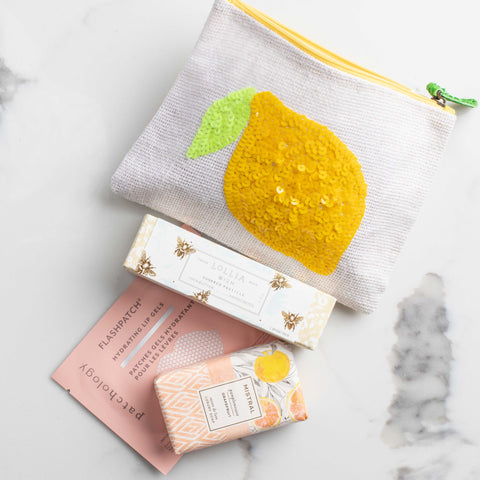 LUX Fresh Squeezed Gift Set To Go: Pamplemousse