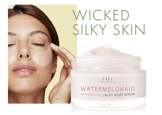 Farmhouse Fresh Watermelonaid Wrinkle-­Out Silky Gelée Serum