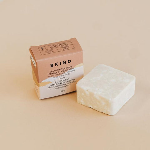 BKIND Natural Skincare Moisturizing Shampoo Bar