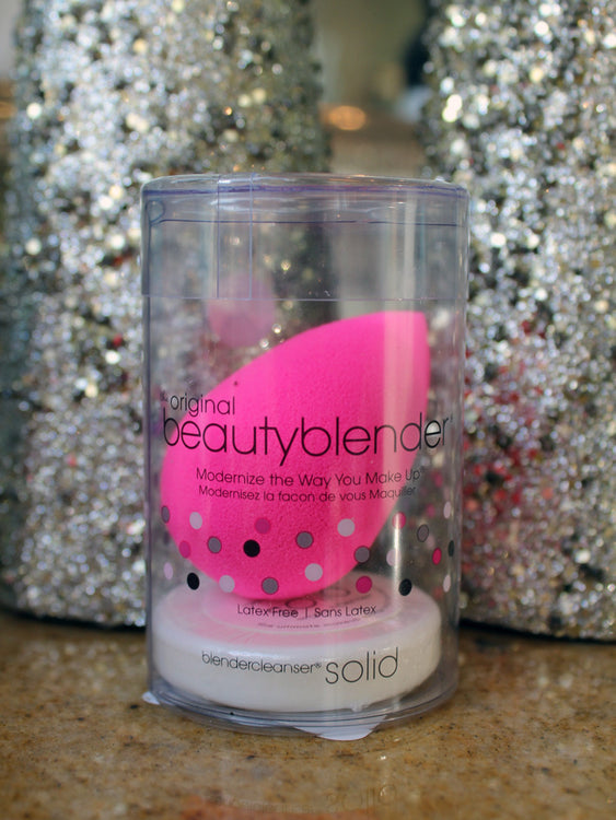 Beautyblender Sponge & Mini Solid Cleanser