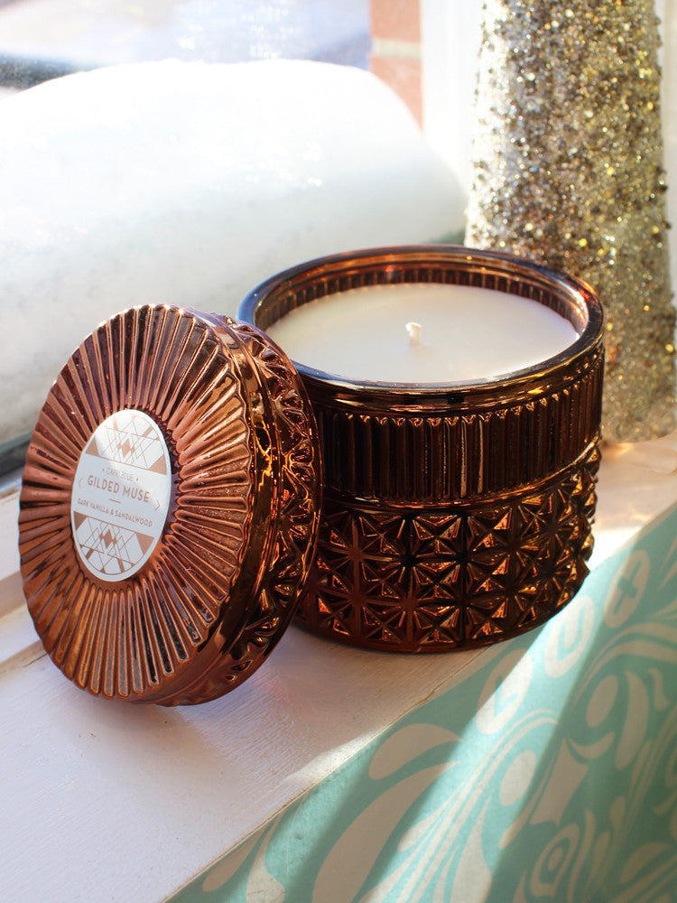 Gilded Muse Faceted Jar Candle 44hr