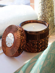 Gilded Muse Faceted Jar Candle