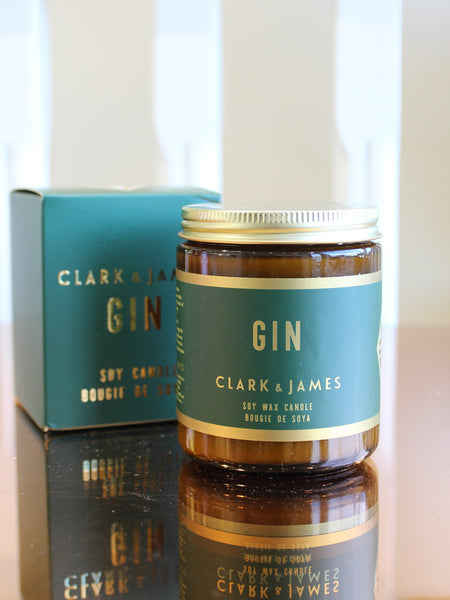 Clark & James 8oz Soy Candle (45Hr)