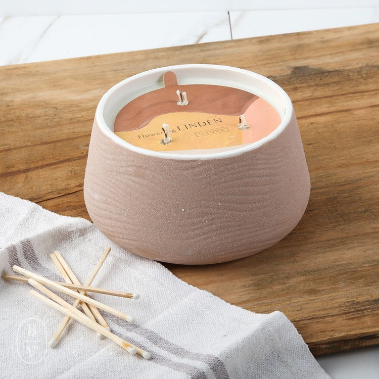 Illume OM Collection Resting Ceramic Candle 60hrs
